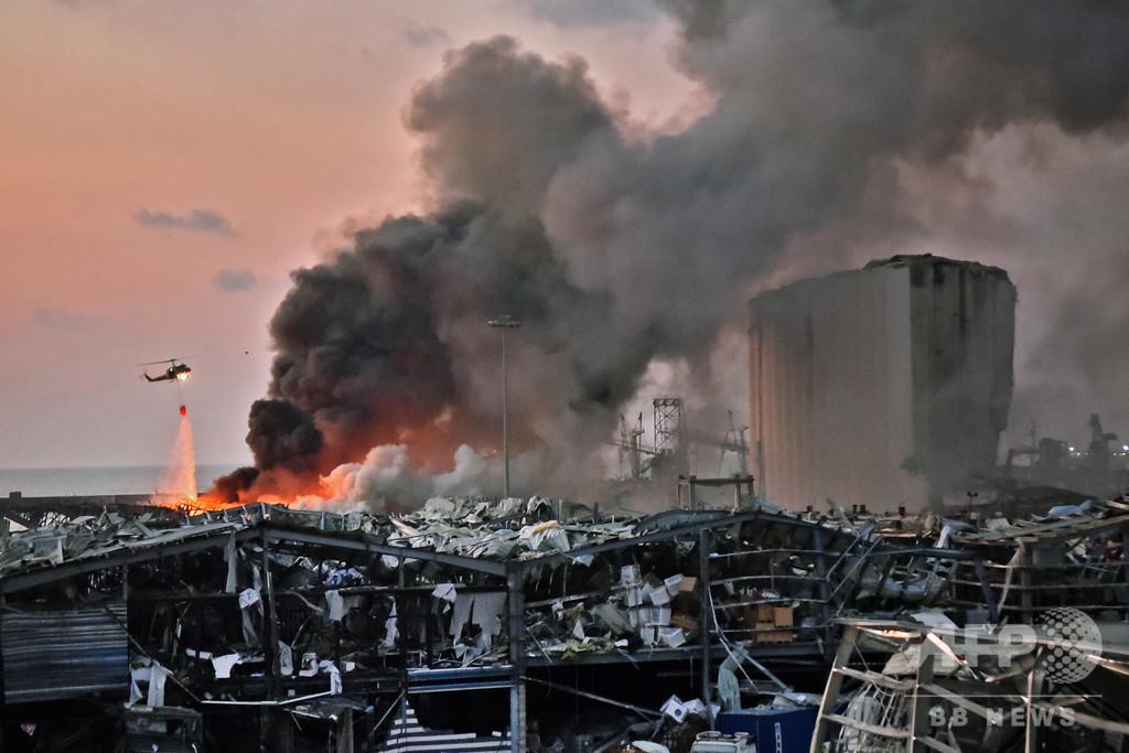 レバノン爆発、死者100人超える 負傷者は4000人