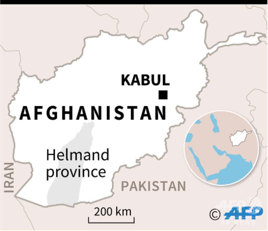 タリバンが軍事基地を攻撃、治安部隊員23人死亡 アフガン南部