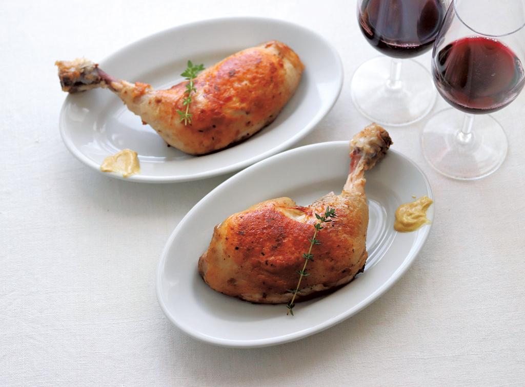 <La Cuillère de marie claire style>第73回 鶏もも肉のコンフィ