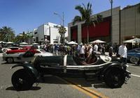 往年の名車が競演、米加州で「コンコース・デレガンス」