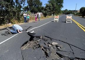 米加州でM6.0の地震、負傷者120人超 州知事が非常事態宣言