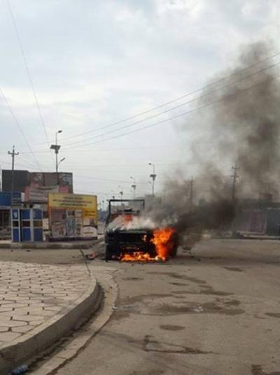 イラクで治安部隊がデモキャンプ排除、10人死亡