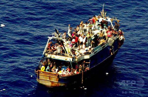 地中海での難民・移民の死者数が過去最多に 国連