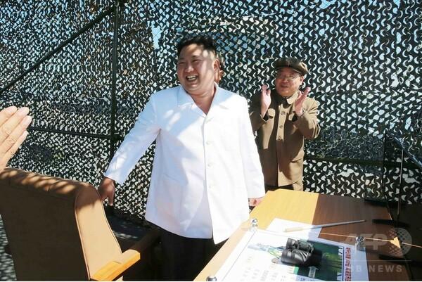 北朝鮮、新しいミサイル潜水艦建造か 従来より大型