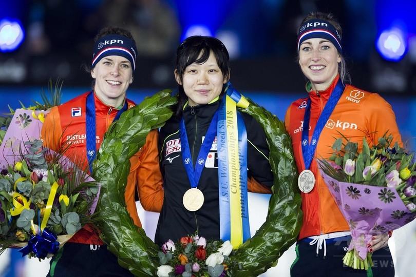 高木美帆がスピードスケート世界選手権を制覇