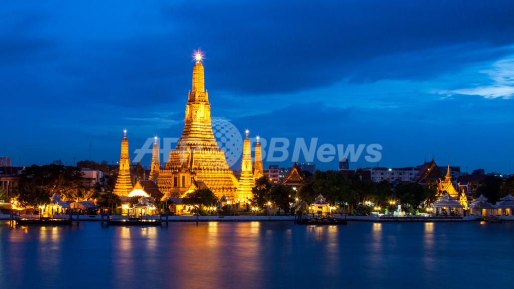 タイの寺院「ワット・アルン」、今月から3年かけて改修