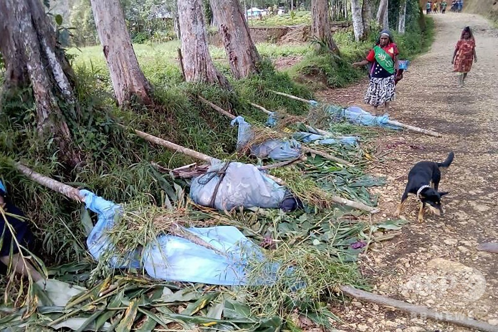 パプアニューギニアで氏族間の抗争、妊婦ら20人超が惨殺される
