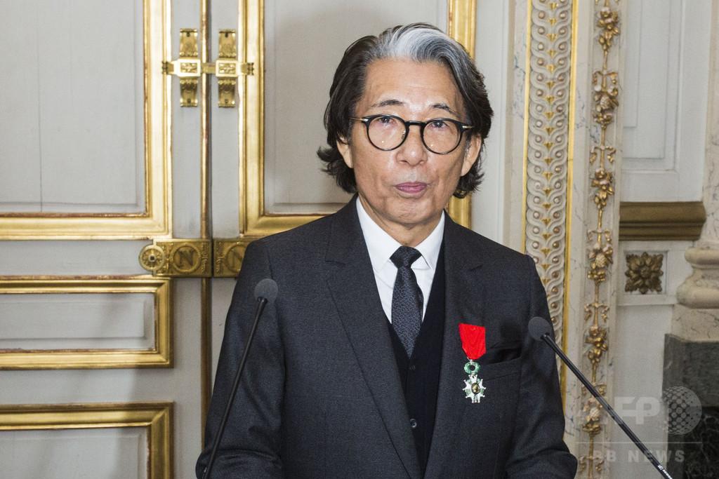 日本人デザイナー高田賢三にレジオン・ドヌール勲章