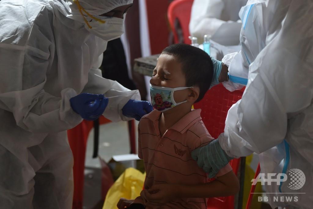 インドの新型コロナ感染者、600万人超える