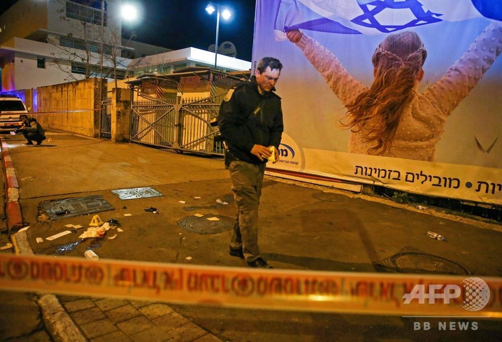 兵士の列に車突入、14人負傷 エルサレム、米和平案で情勢悪化