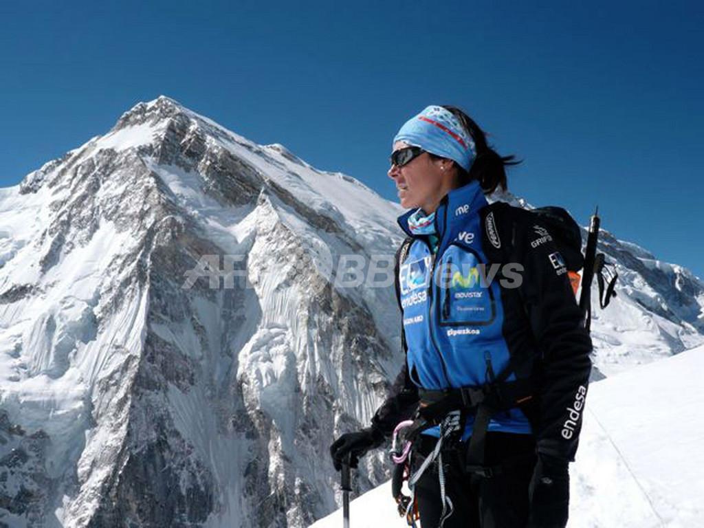 スペイン人登山家、女性初の8000m峰トップ14座の登頂達成まであと2座 ...