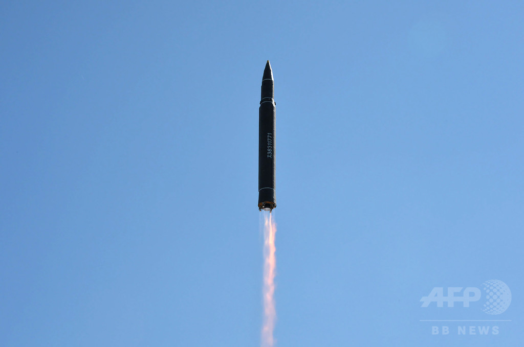 北朝鮮、ICBMの発射実験に成功と発表
