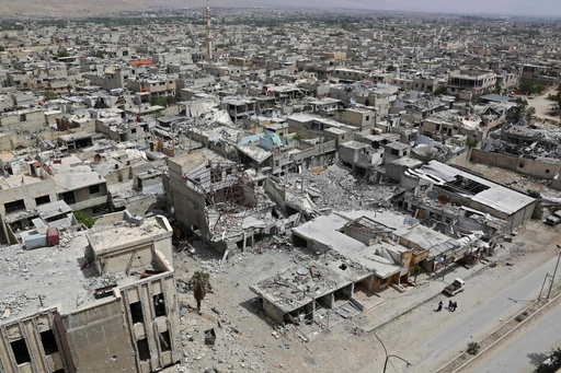 シリア化学兵器使用疑惑、OPCWが現地で試料採取