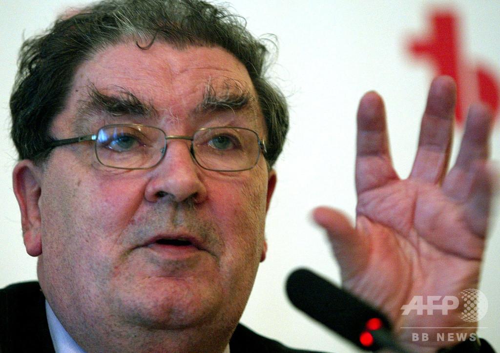 北アイルランドの政治家J・ヒューム氏死去、83歳 和平に寄与しノーベル賞