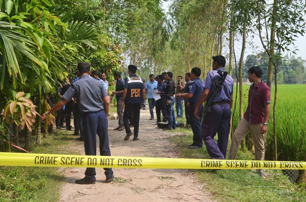 バングラデシュ邦人殺害、野党活動家と実業家を聴取