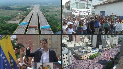 動画:AFPTVの映像で振り返る、2019年上半期のベネズエラ危機