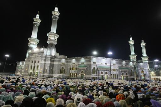 イスラム教の大巡礼、新型インフル懸念でピーク前倒し