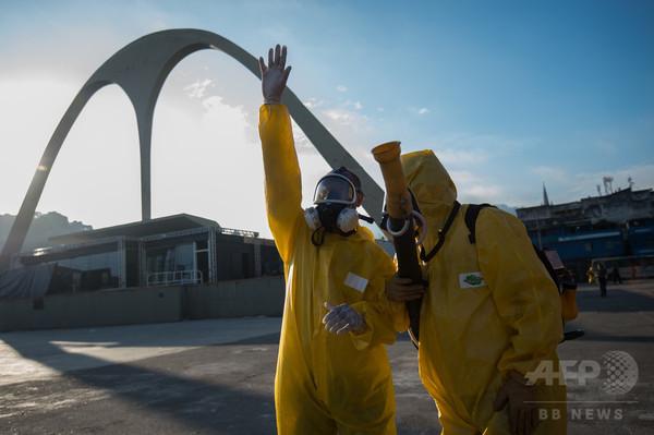 ブラジル、リオ五輪に向け「対ジカ熱」アプリを提供へ