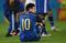 【写真】W杯決勝で敗戦喫し落胆するアルゼンチン