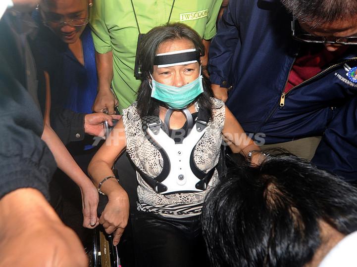 フィリピン、入院中のアロヨ前大統領を逮捕 選挙妨害容疑で