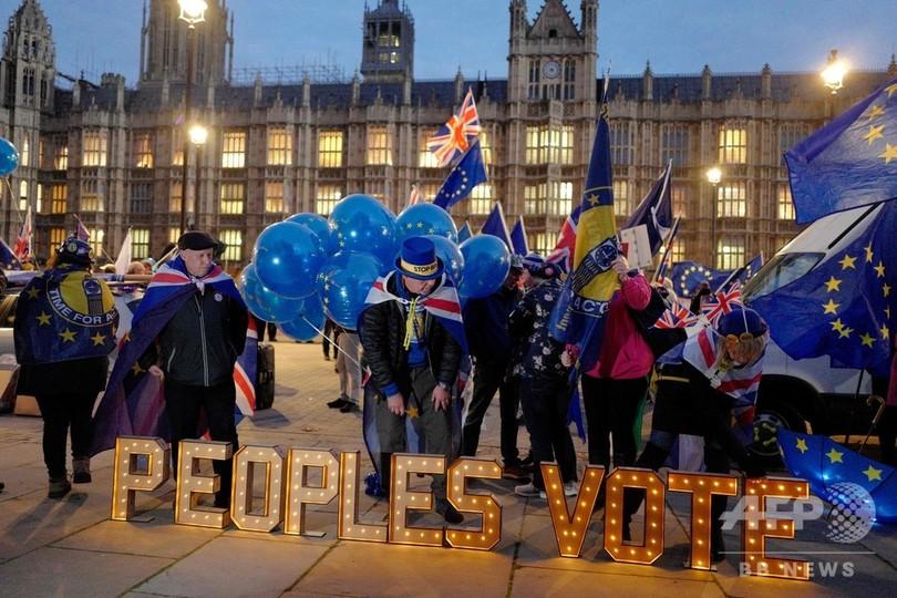 英首相、ブレグジット案の議会採決延期 EUとの再協議表明