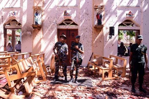 スリランカ連続爆発、死者207人に 負傷者は約450人