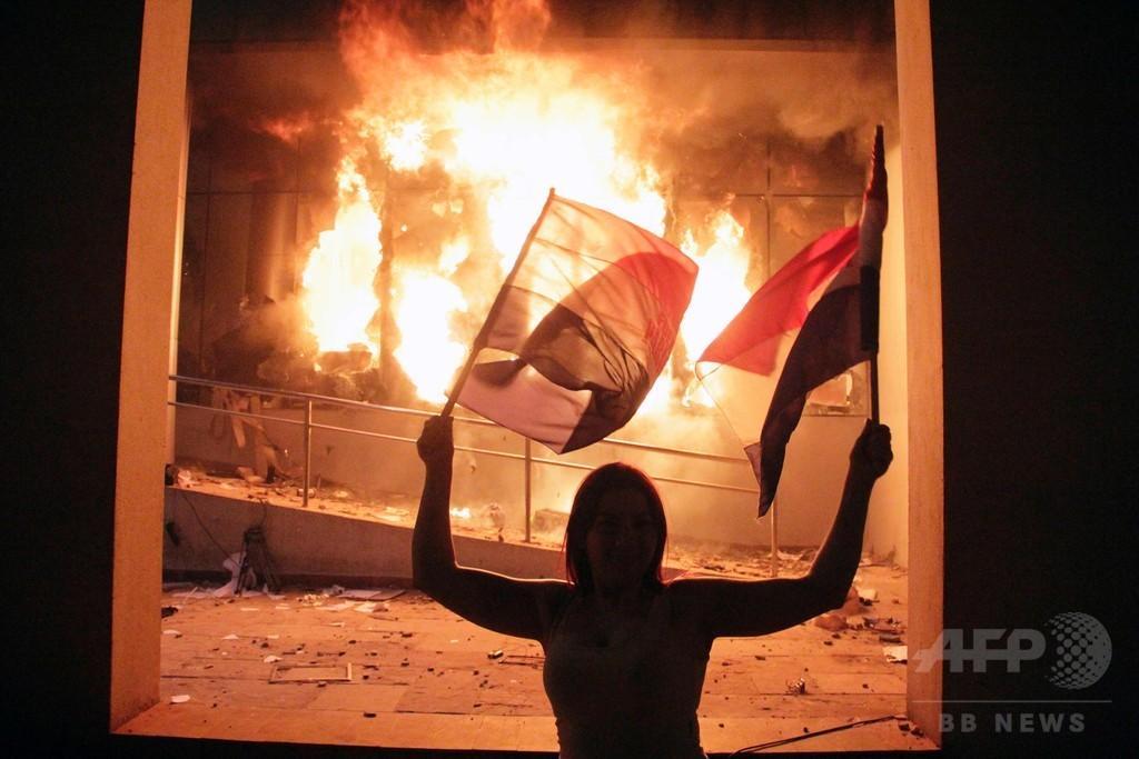 パラグアイ上院、大統領再選認める改憲案を可決 騒乱で1人死亡