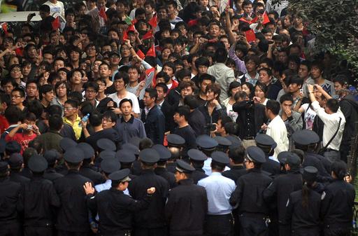 武漢でも反日デモ、日本の尖閣領有に抗議