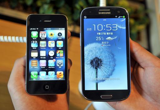 米アップル、サムスン携帯8機種の販売差し止めを申請
