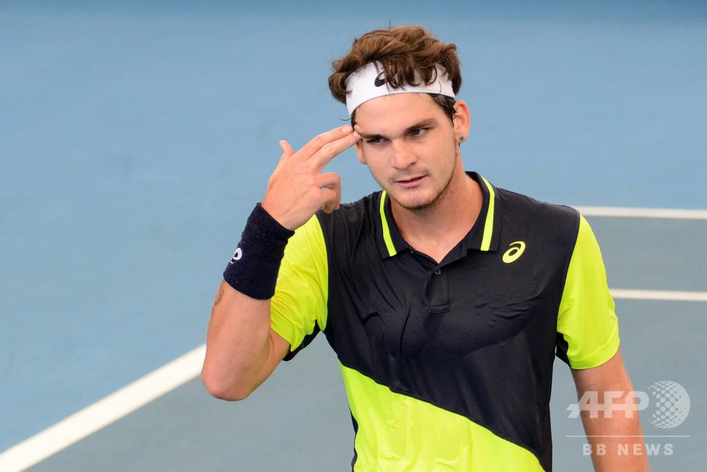 男子テニスの20歳新鋭、新型コロナ感染を公表