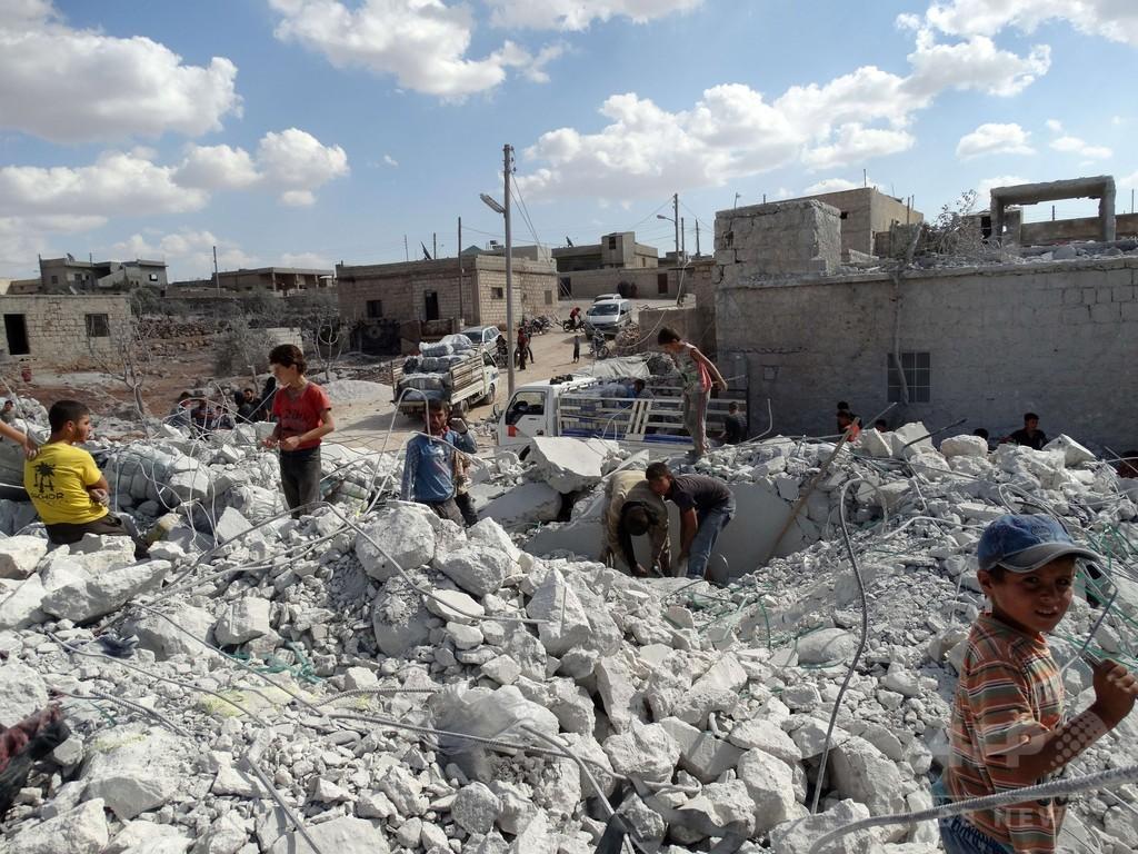 米のシリア空爆にアラブ諸国参加、オバマ氏「単独の戦いでない」