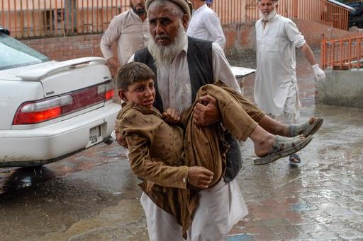 礼拝中のモスクで爆発、62人死亡 アフガニスタン東部