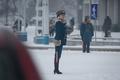 北朝鮮・平壌を象徴する存在、女性交通整理員