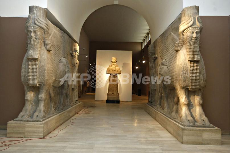 イラク国立博物館、約6年ぶりに...
