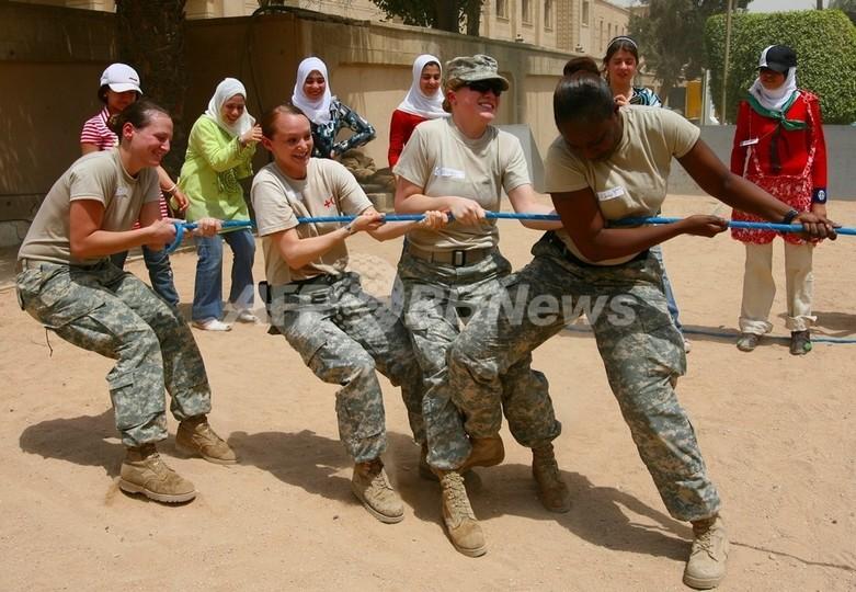 米軍、駐イラク男女兵士への「妊娠禁止令」を撤回