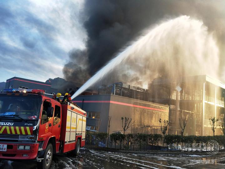 中国四川省の化学工場で爆発、19人死亡