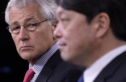 ヘーゲル米国防長官、尖閣は日米安保の「適用範囲内」