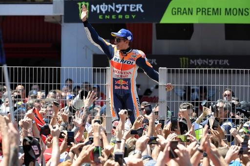 マルケスが5年ぶりのカタルーニャGP優勝、年間順位でもリード拡大