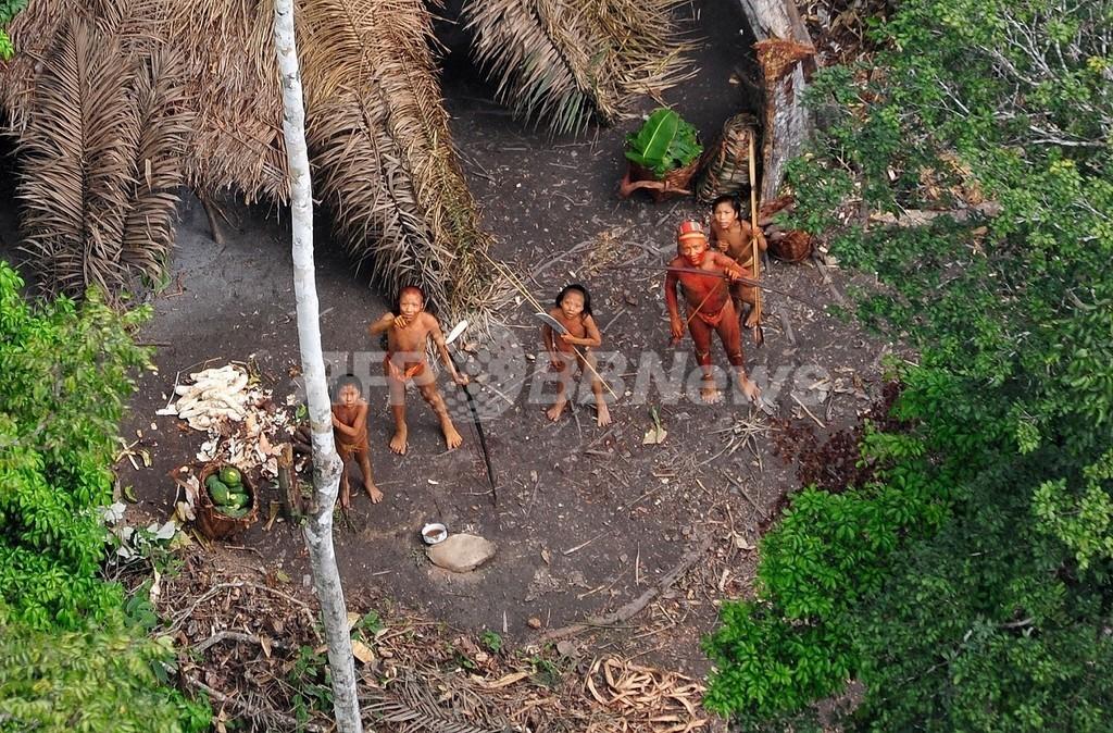 アマゾン先住民の新たな写真を公開、保護への関心高める狙い