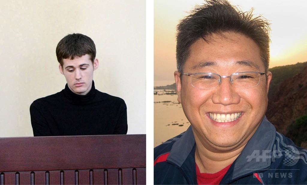 北朝鮮、米国人2人を解放 米情報長官が訪朝して交渉