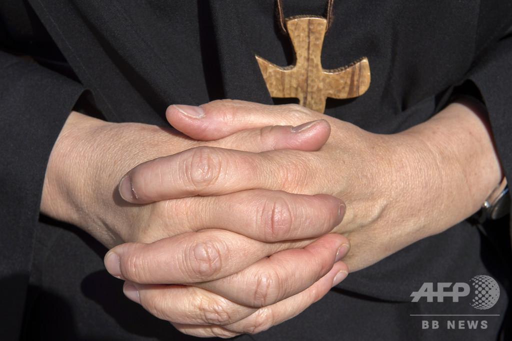 聖職者が修道女を「性奴隷」に、児童虐待問題で揺れる教会に新たな打撃 バチカン