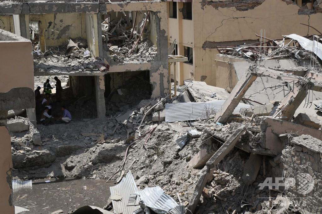 アフガン首都でタリバンの車爆弾が爆発 14人死亡、145人負傷