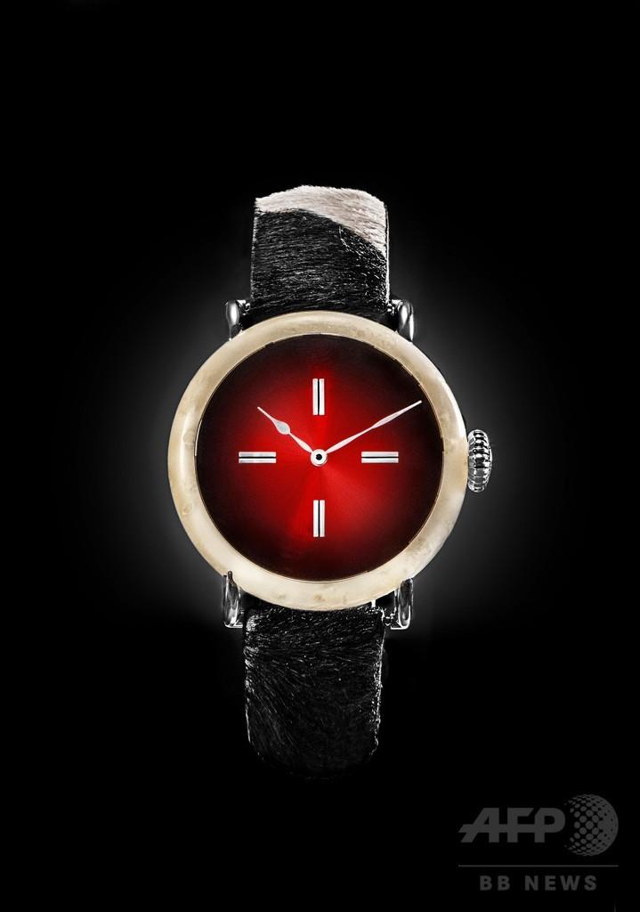 スイス産チーズでできた「最もスイス的な」時計、1億2200万円で販売