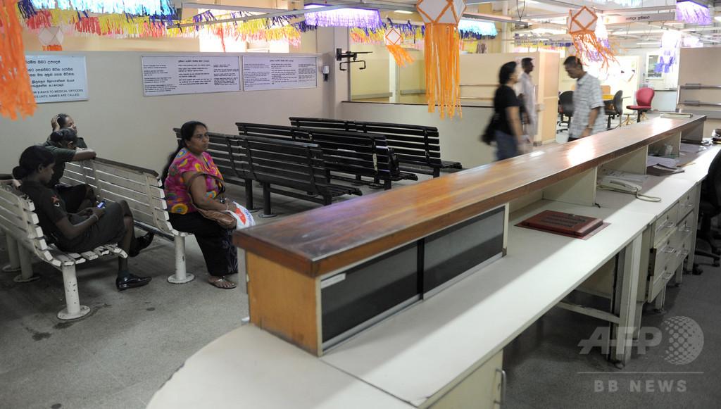 医師ストで多数の患者に影響 緊急治療拒否する病院も スリランカ