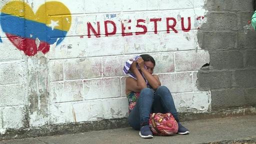 動画:ベネズエラの留置場で衝突、被収容者29人が死亡 定員を大幅超過
