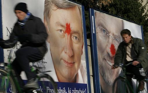 スロベニアで大統領選の決選投票始まる