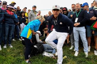 ゴルフボールが顔面直撃、失明したファンが訴訟へ ライダー杯
