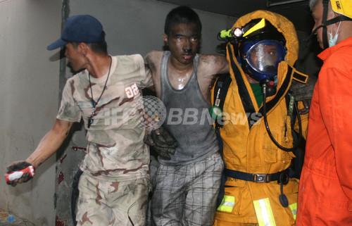 タイ南部で連続爆発、13人死亡 数百人負傷