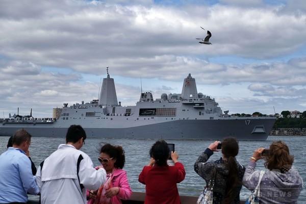 米海軍などのイベント「フリートウイーク」開幕