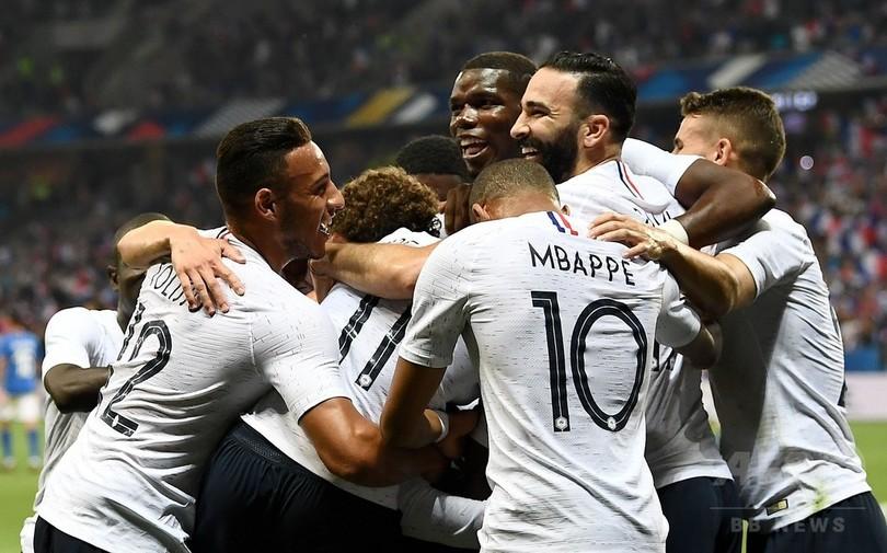 デンベレの芸術弾で勝負あり、フランスがイタリアを下す